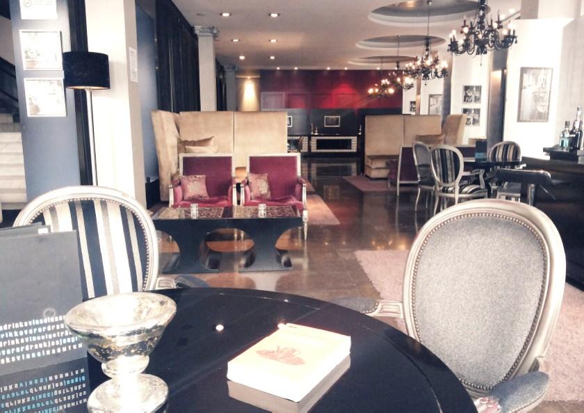 A book forgotten in Vincci Hotels