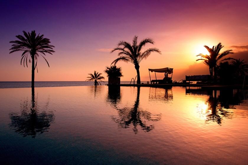 Atardecer en Beach Club Estrella del Mar