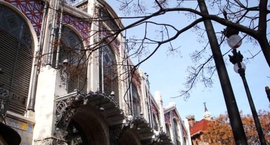 Façade of the Mercat Central de València / Photo: official website of the market.