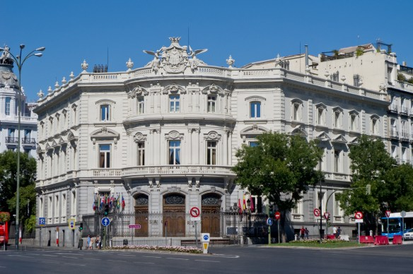 Facade of Linare`s Palace. / Picture: Wikipedia.