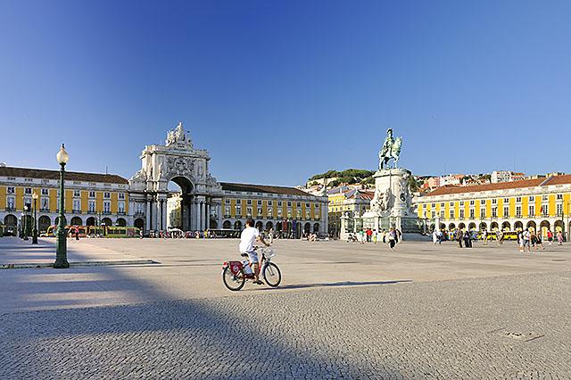 Commerce Square, Lisbon, Portugal
