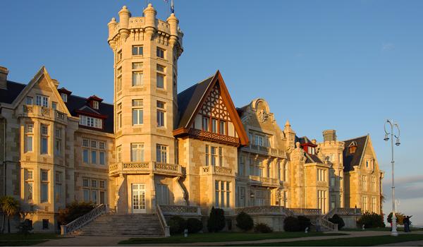 Magdalena Palace, Santander.