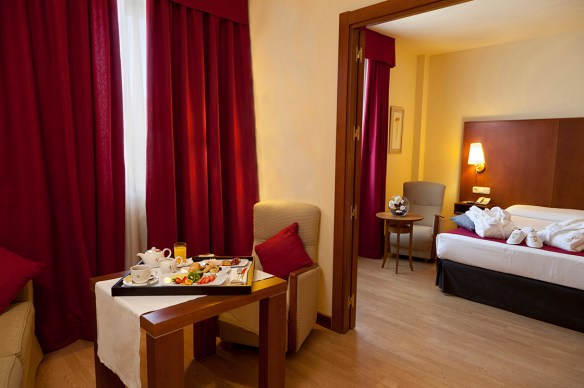 Suite Junior at the hotel Vincci Ciudad de Salamanca 4* Salamanca