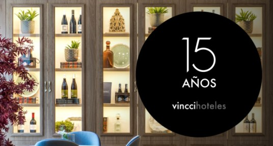 Vincci Hotels celebrates its 15th anniversary: A decade and a half of passion for tourism