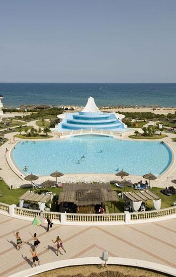 Piscina del hotel Vincci Taj Sultán 5* Hammamet