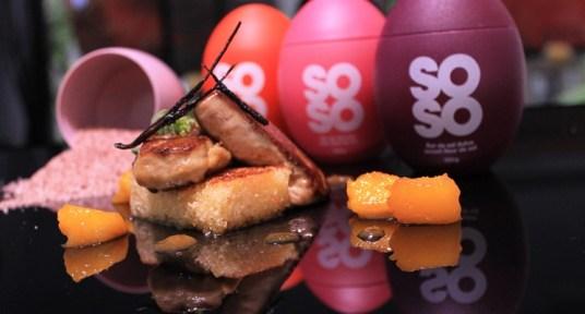 El Restaurante SoMa estrena una carta la mar de SALADA