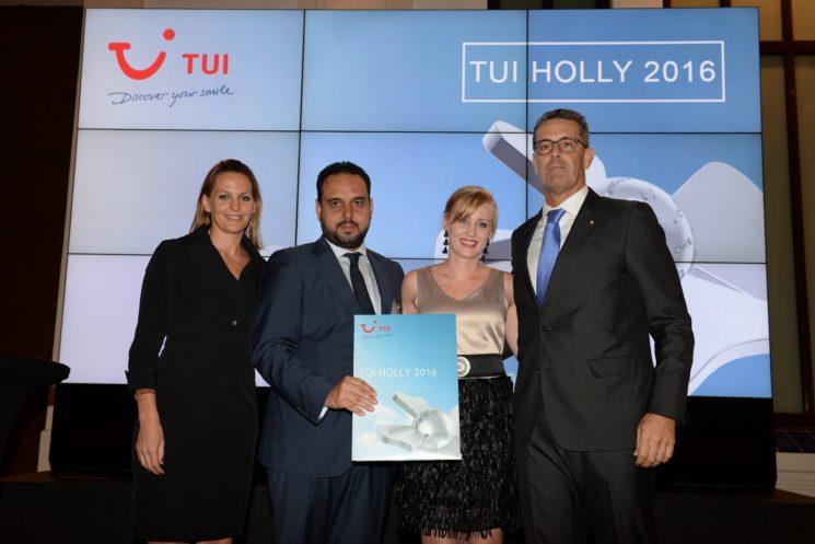 Vincci Selección La Plantación del Sur 5* Tenerife recibe el premio TUI Holly 2016