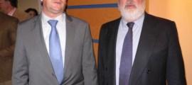 Amancio Moyano y el Ministro de Agricultura, Miguel Angel Arias Cañete