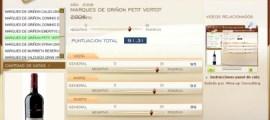 MARQUES DE GRIÑON PETIT VERDOT 2006 - 91.31 PUNTOS EN WWW.ECATAS.COM POR JOAQUIN PARRA WINE UP