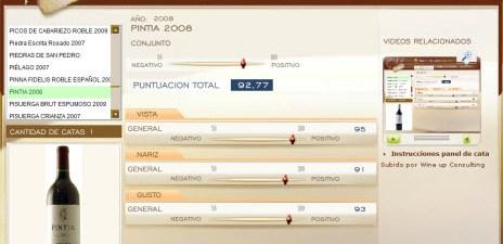 PINTIA 2008 - 92.77 PUNTOS EN WWW.ECATAS.COM POR JOAQUIN PARRA WINE UP