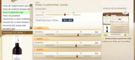 PAGO FLORENTINO 2008 - 91.85 PUNTOS EN WWW.ECATAS.COM POR JOAQUIN PARRA WINE UP