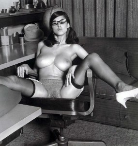 Adrienne stoute vintage models striptease 3