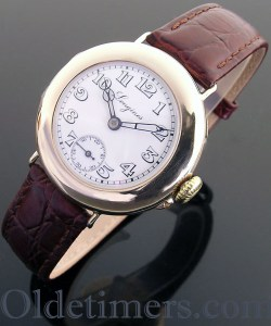 1915 9ct gold vintage Longines watch