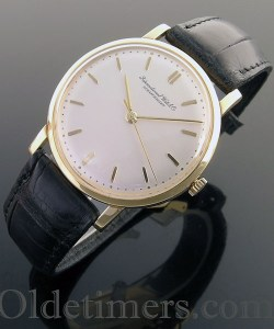 1960s 18ct gold round vintage IWC watch (3782)