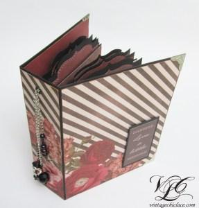 Floral Scrapbook Album