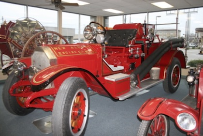 1937 flood firetruck restored