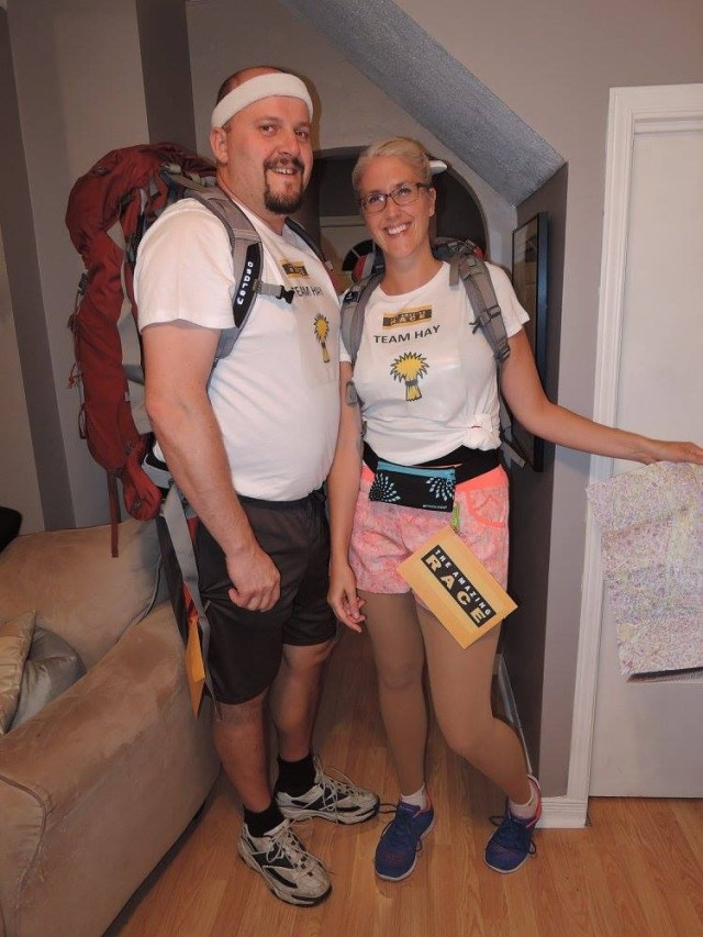 Amazing race costume idea