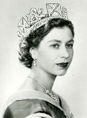 Queen Elizabeth the 11 1950s