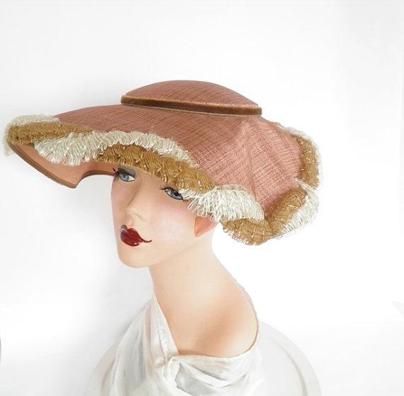 Vintage 1950s hat