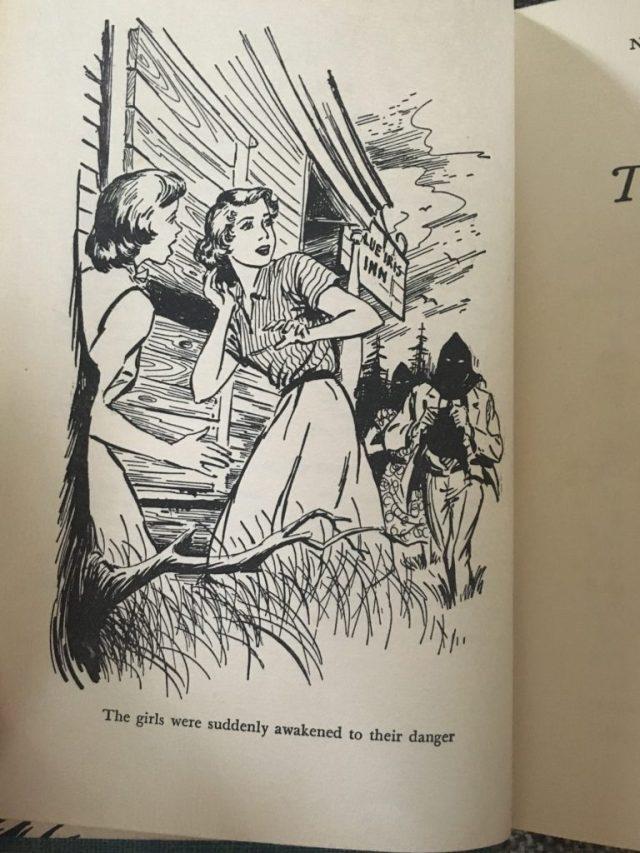 1950s Nancy Drew inside image