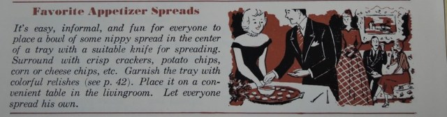 1950s party food ideas