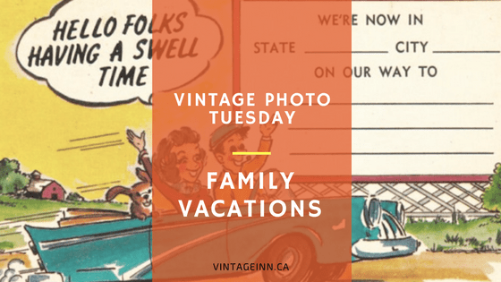 vintage-photo-tuesday family vacations 1950s 1960s