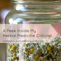 Living Naturally: A Peek Inside My Herbal Medicine Cabinet