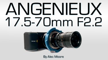 Angenieux 17.5-70mm F/2.2 for BMPCC & D16