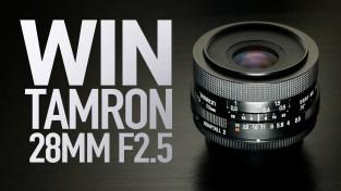WIN Tamron Adaptall-2 28mm F2.5 Lens