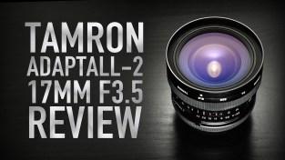 Tamron Adaptall-2 17mm F3.5 REVIEW