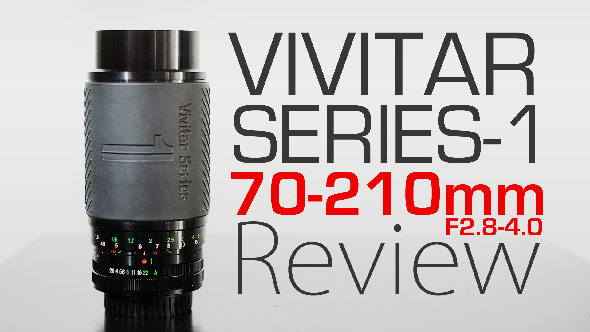 Vivitar Series-1 70-210mm F2.8-4.0 REVIEW