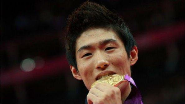 Yang Hak Seon gold medallist