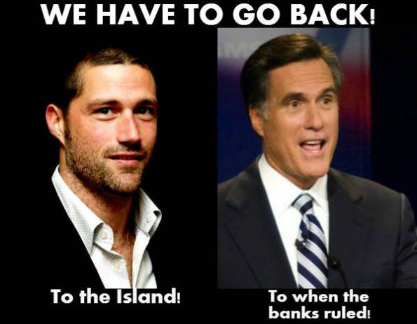 Matthew Fox looks like Mitt Romney