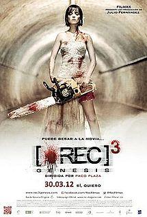 REC3: Genesis Poster