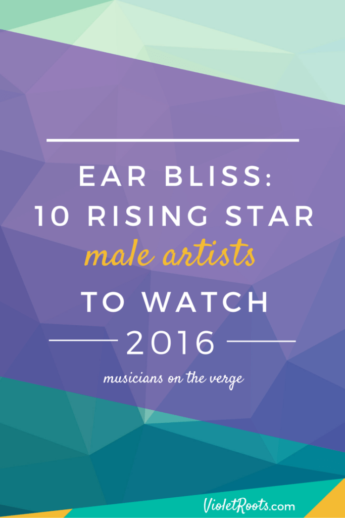 Male Artists to Watch - Meet these male artists to watch! If rising stars like Gallant, Kevin Garret, KWABS, SG Lewis & Jarryd James aren't on your radar they will be soon!