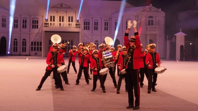 Show- & Marchingband Haaglanden uit Pijnacker