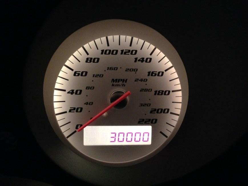 30,000 Miles