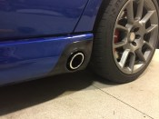 New exhaust tips (I need to go back in and adjust placement)