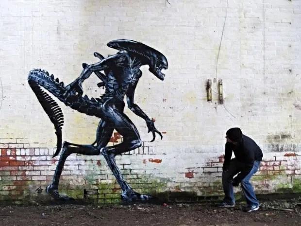 grafiti-alien
