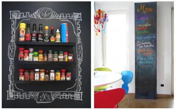 4-chalkboard-paint-idea-blackboard-kitchen-spice-rack-memo-wall