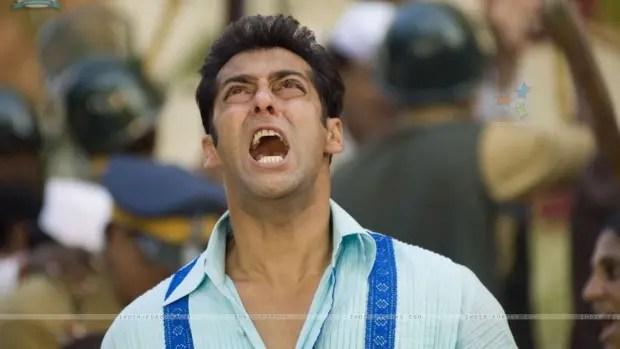 Salman Khan shouting on God