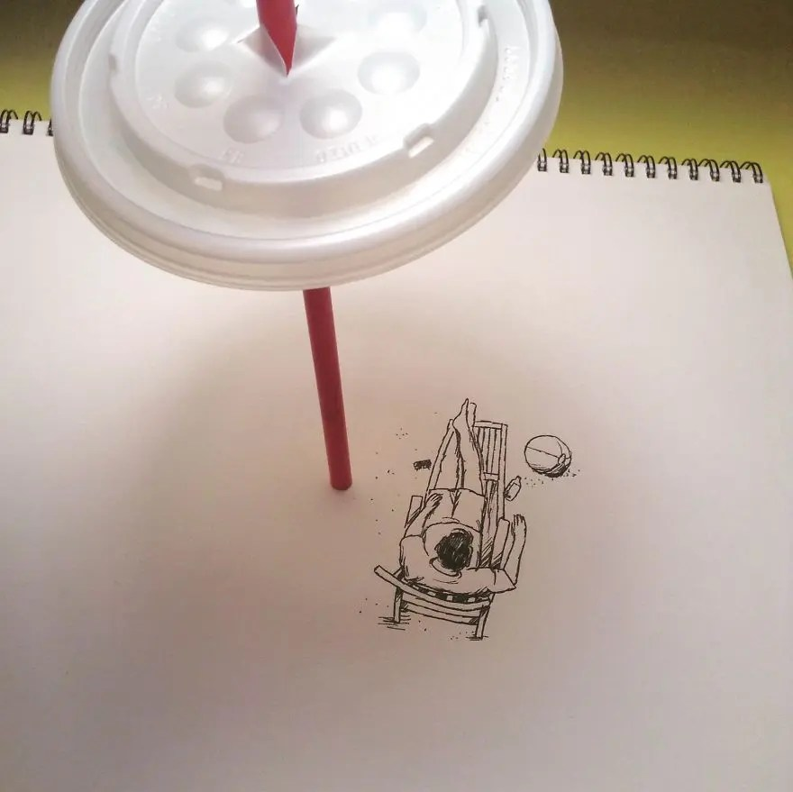 I-Create-Illustrations-Using-Everyday-Objects-Part-42__880