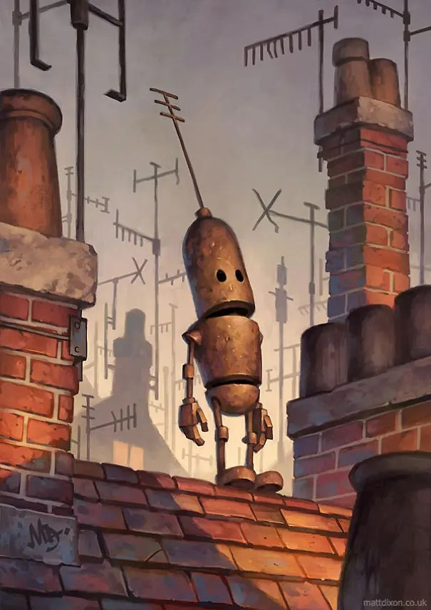 robots solitarios 11