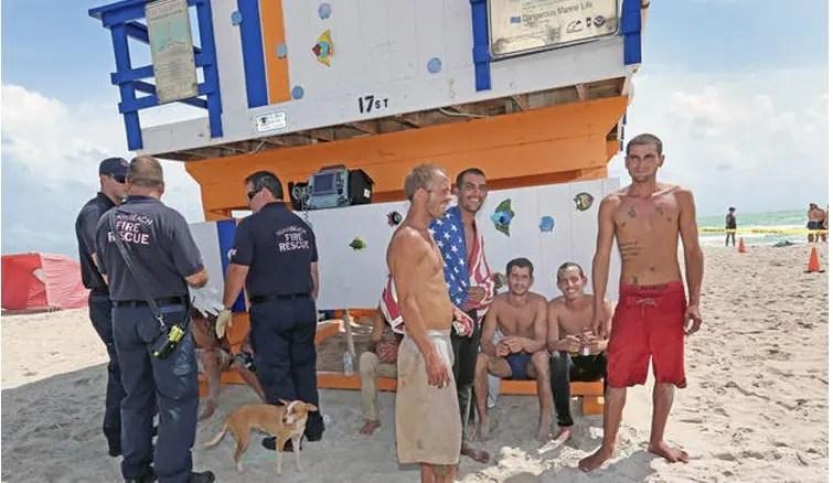 emigrante cubano y perro 2