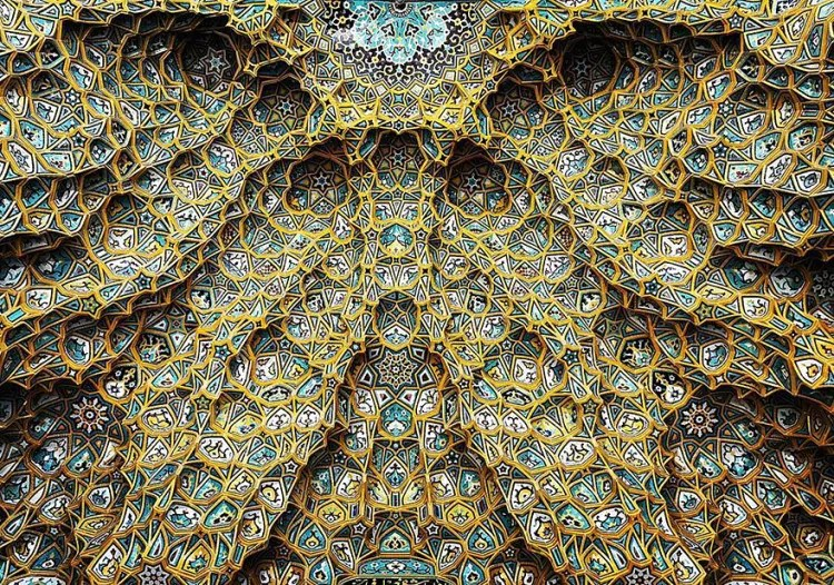hermosa mezquita en iran 1