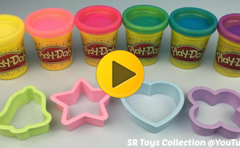 play doh sparkle collection fun and creative for kids viral videos. Black Bedroom Furniture Sets. Home Design Ideas