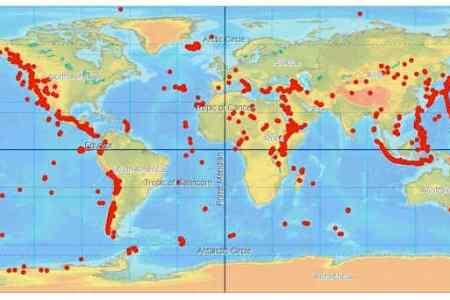 Map of all active volcanoes gumiabroncs Images