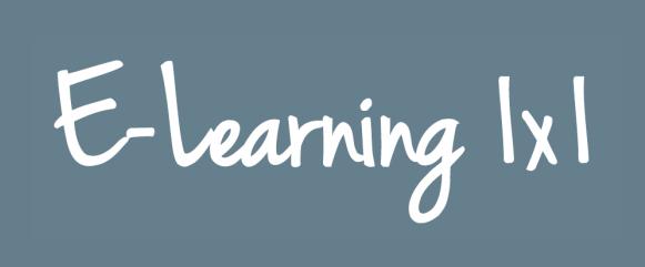 Logo eLearning 1x1