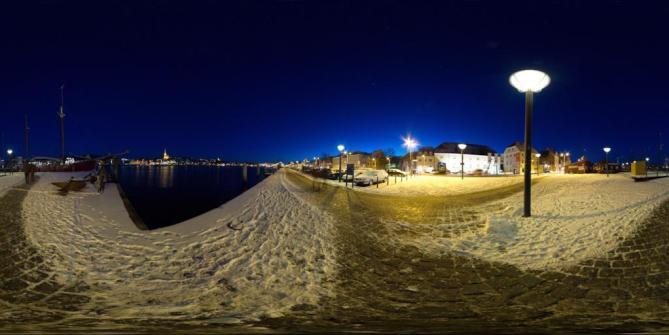 Flensborg Havn panorama