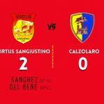 Virtus Sangiustino - Calzolaro (2-0) - 3 Ottobre 2021